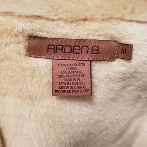 Arden B Jackets & Coats - ARDEN B suede trench coat